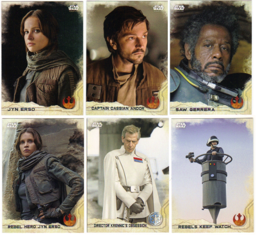 2017 Star Wars Rogue One Series 2 Gray Squadron //100 #1-100 Pick Your Card