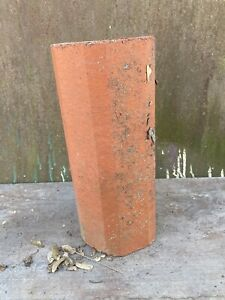 """Vintage Early 1900s Terra Cotta Octagonal Round 12"""" Section Flower Planter Pot"""