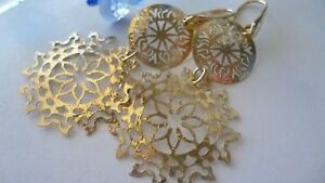 STUNNING-GENUINE-GOLD-PLATED-OVER-SOLID-STERLING-SILVER-EARRINGS-MADE-IN-ITALY