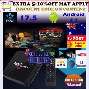 Details about MXQ PRO TV BOX Android 7 1 Quad Core 4K Smart Media Player  KODI 18 1GB 8GB