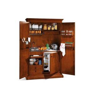 Arte povera armadio cucina monoblocco larghezza 135 ebay - Armadio cucina monoblocco ...