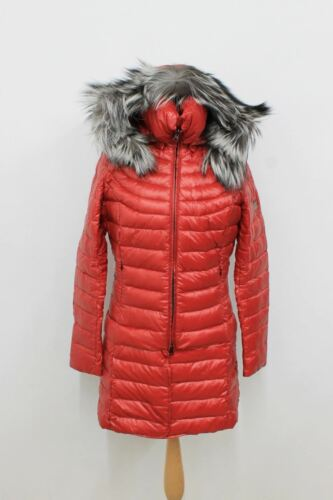 Zip cappuccio Strindberg Jacket M Ladies maniche Dimensioni Red Up con a lunghe Quilted appross q6Zfq8w
