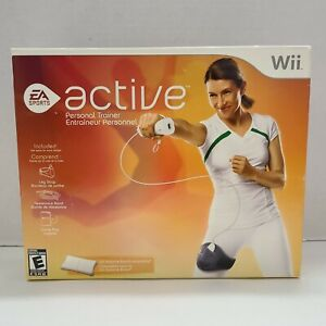 Brand-New-EA-Sports-Nintendo-Wii-Active-Personal-Trainer-w-Game-Leg-Strap-amp-Band