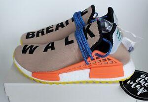 Adidas Pharrell Human HU NMD Trail Race Nude Tan Beige 5 6 7 8 9 10 11 12 NUOVO