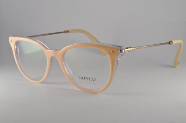 Valentino VA 3006 Havana Crystal 49//18//135 Women Eyewear Frame