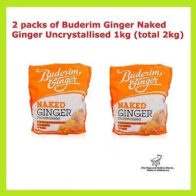 Buderim Naked Uncrystallised Ginger 200g - Granny Macs