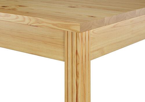 Essgruppe für Vier HolzTisch moderne Stühlen Kiefer Massivholz 90.70-51 C-Set 21