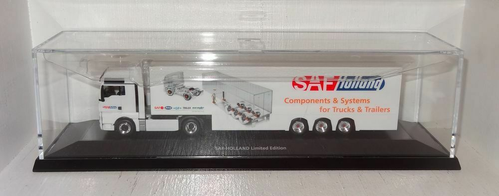 Sb48 Herpa Man remolcarse SAF Holland Limited Limited Limited Edition 1 87 en PC 602050