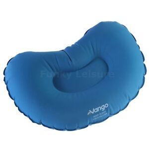 Vango  Luxury Deep Sleep Inflatable Camping Pillow - Micro Pack Size - Sky Blue