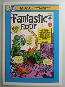 1990 Marvel Comics Universe Series 1 MVC FANTASTIC FOUR #124. SHIPS FREE!!)