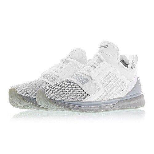 9fa947b5a64 PUMA Ignite Limitless Colorblock Men S Training Shoes 12 PUMA White-quarry  for sale online