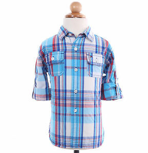 253081a7 Image is loading Tommy-Hilfiger-Children-Boy-Baby-Toddler-Long-Sleeve-