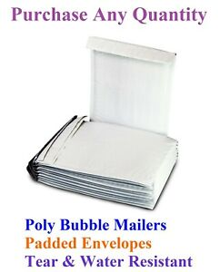 000-4x8-WHITE-POLY-BUBBLE-MAILERS-SHIPPING-MAILING-PADDED-ENVELOPES-BAGS-4-034-x7-034