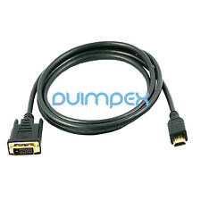 J15 3m HDMI macho a DVI cable adaptador alta velocidad FULL HD TV LCD portátil, PC