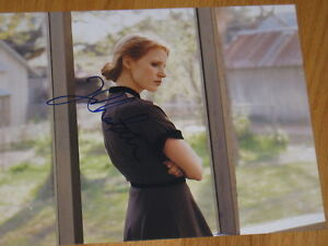 JESSICA-CHASTAIN-SIGNED-AUTOGRAPH-8x10-TREE-OF-LIFE-COA