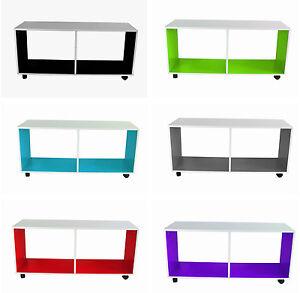 Tisch couchtisch beistelltisch nachttisch tv bank 4 rollen - Tv bank rollen ...