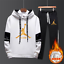 NEW-Mens-Michael-Air-23-Jordan-Tracksuit-Hoodie-and-Pants-Men-Sportswear thumbnail 1