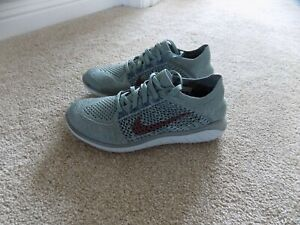 88eef30a2af Details about NEW WOMENS 6.5 NIKE FREE RN FLYKNIT 2018 RUNNING SHOES MICA  GREEN 942839 300