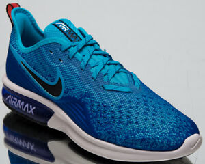 Details about Nike Air Max Sequent 4 Men's New Indigo Force Black Casual Sneakers AO4485 401