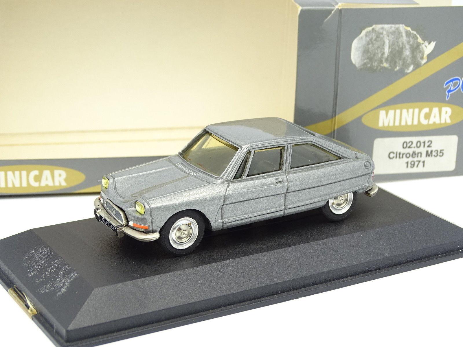 Minicar Plus 1 43 - Citroen AMI 8 Predotipo M35 1975