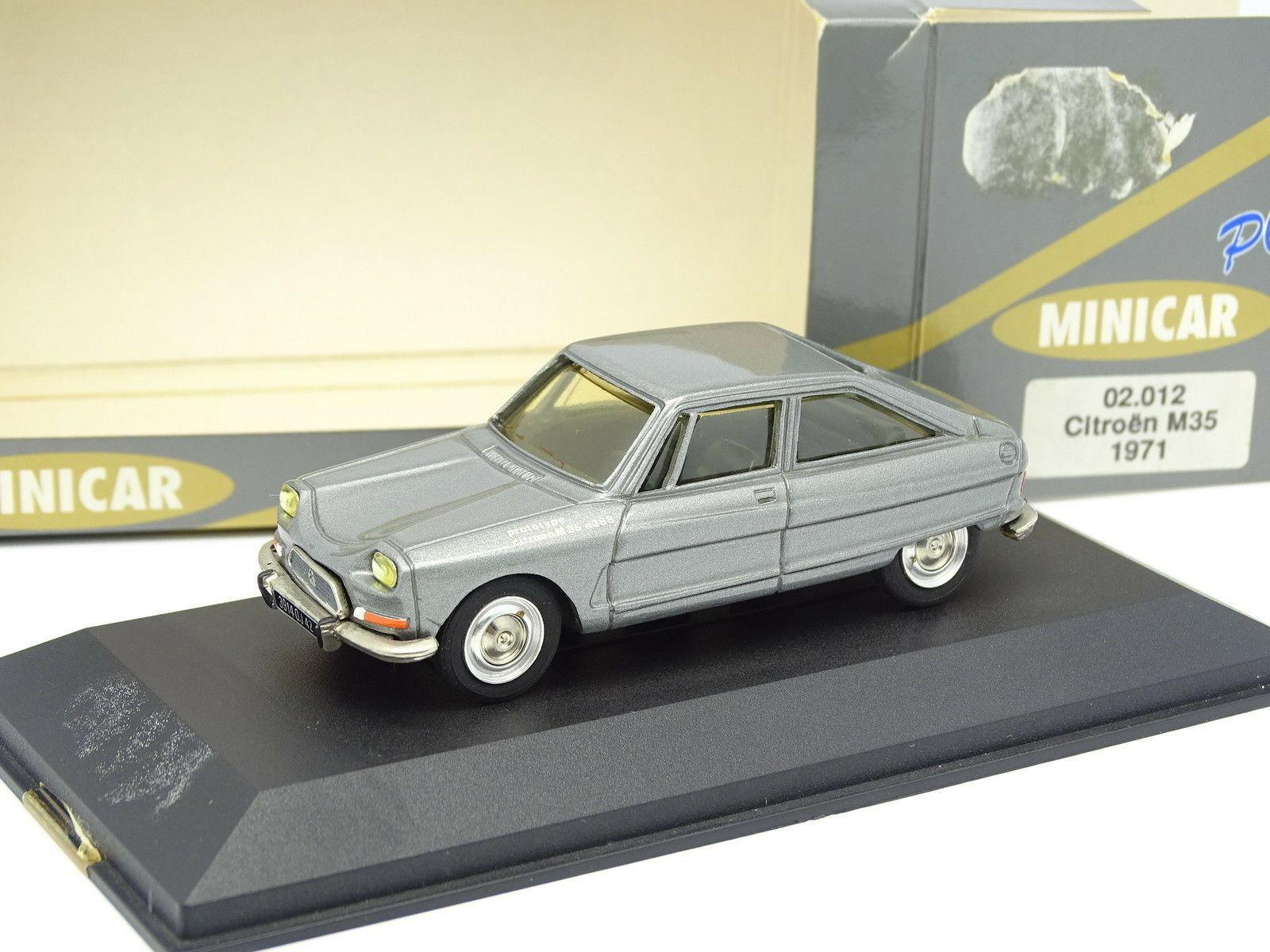 Minicar Plus 1/43 - Citroen AMI 8 Prototype M35 1975