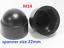 M5-M6-M8-M10-M12-M14-M16-M18-M20-M-Bolt-Nut-Domed-Cover-Caps-Plastic-Black miniatuur 11