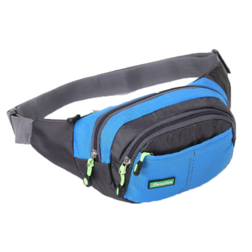 Waterproof Men Waist Bum Bag Travel Fanny Pack Sport Camping Hiking Pocket Pouch