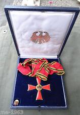 BRD Cruz del Mérito cuello cruz en estuche con miniatura