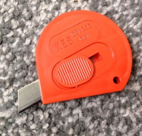 3x Seguridad Navaja de costura cortahílos tijeras de Cuchilla de corte de seguridad artesanías.