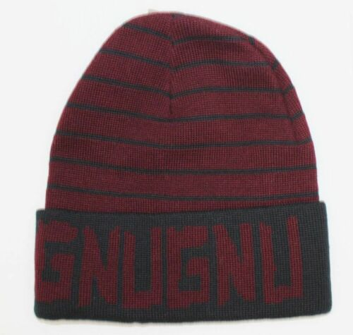 Gnu snowboard ski surf skateboard gnug Beanie rouge neuf jamais porté