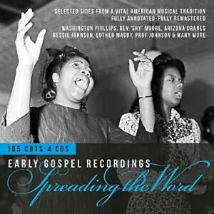 Spreading-The-Word-Early-Gospel-Recordings-Various-NEW-4CD