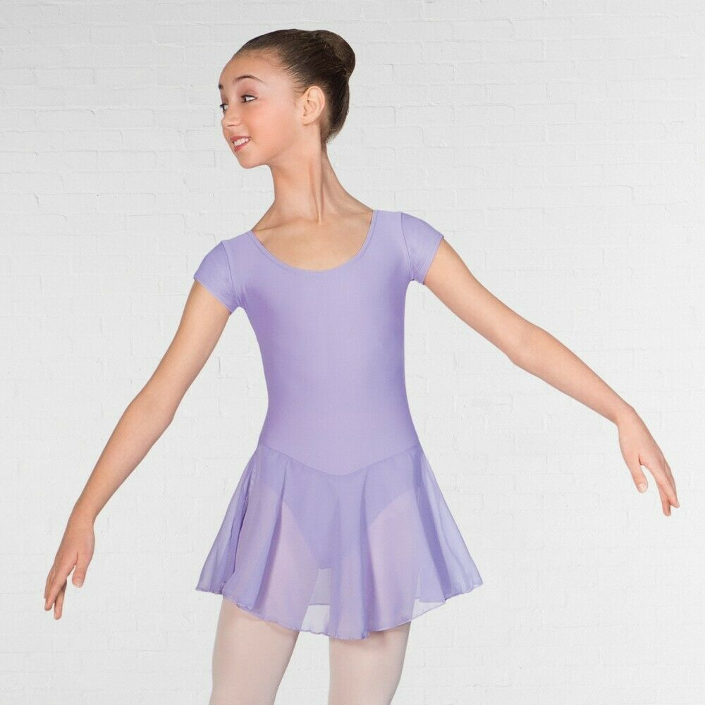 YOOJIA Enfant Fille Tutu de Ballet Asym/étrique Robe de Danse Classique Ballet Robe Princesse /à Paillettes Robe Patinage sans Manche Justaucorps Gymnastique Fille 7-14 Ans