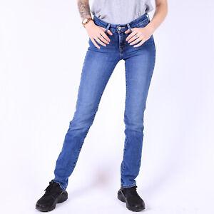 Levi-039-s-712-Slim-Fit-Damen-Blau-Jeans-DE-32-US-W25-L32