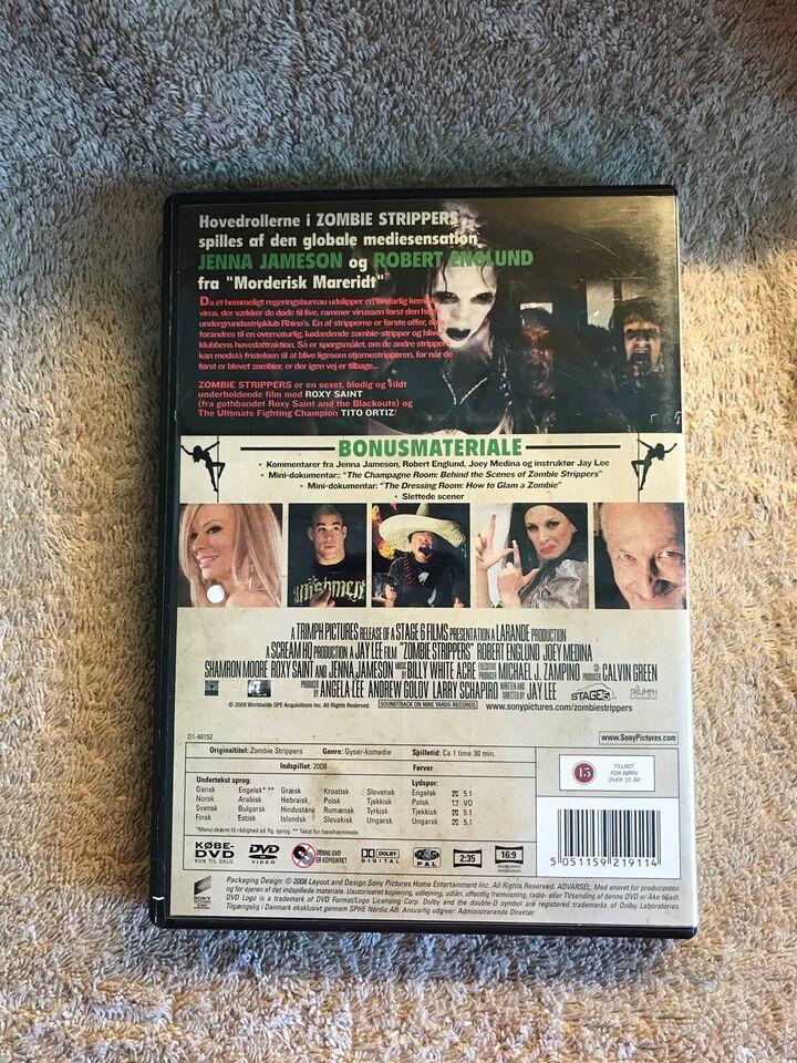 Zombie Strippers , DVD, gyser