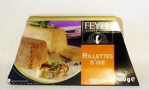 G nse rillette gans g nsefleisch 460g rillettes d oie original frankreich feyel - Rillettes d oie maison ...