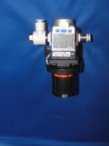 SMC ARG20-02BG1-Y-X2115C1 Regulator //w ISE35-N-65-M /& Gauge UNUSED