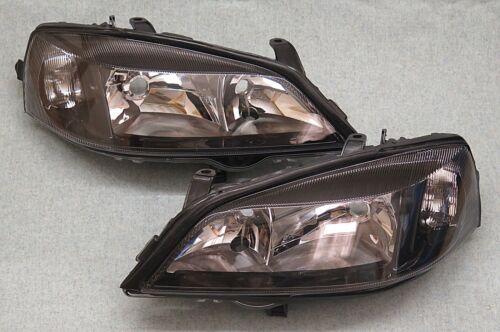 VAUXHALL ASTRA G MK4 GSI SRI Projecteurs s/'adapte à tous les modèles Head Lights paire NEUF
