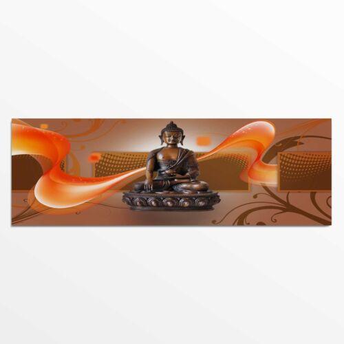 Feeby Bild Wandbild Deco Panel moderne Wanddekoration Holz Buddha