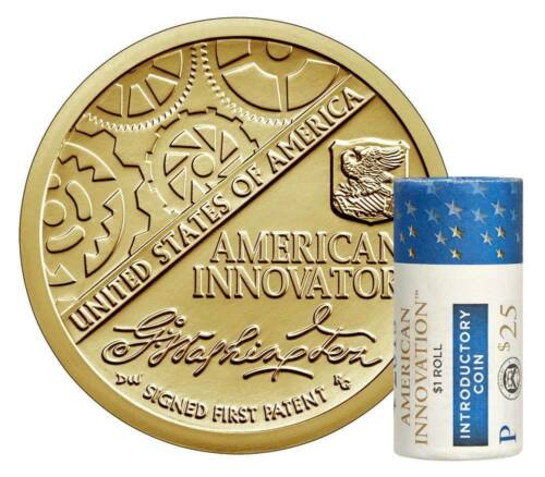 2018 P American Innovation Dollar Roll 1$ US MINT  INTRODUCTORY  COIN