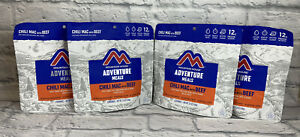 Lot Of 4 Mountain House Chili Mac With Beef Freeze Dried Food Backpacking Camp