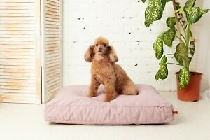 Dog-Bed-Small-Orthopedic-Cushion-Calming-Removable-Cover-Durable