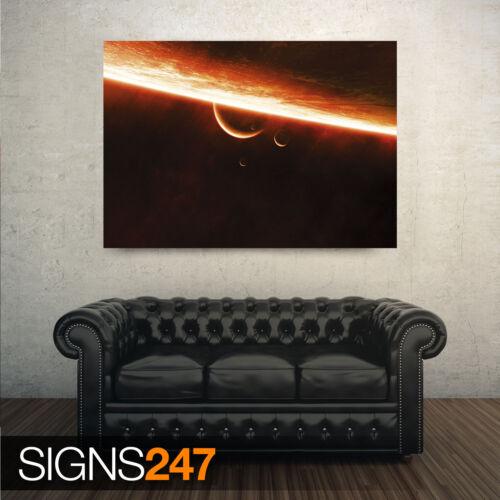image poster imprimé art A0 A1 A2 A3 A4-2ème moitié prix! 3006 Atmosphère de Sun