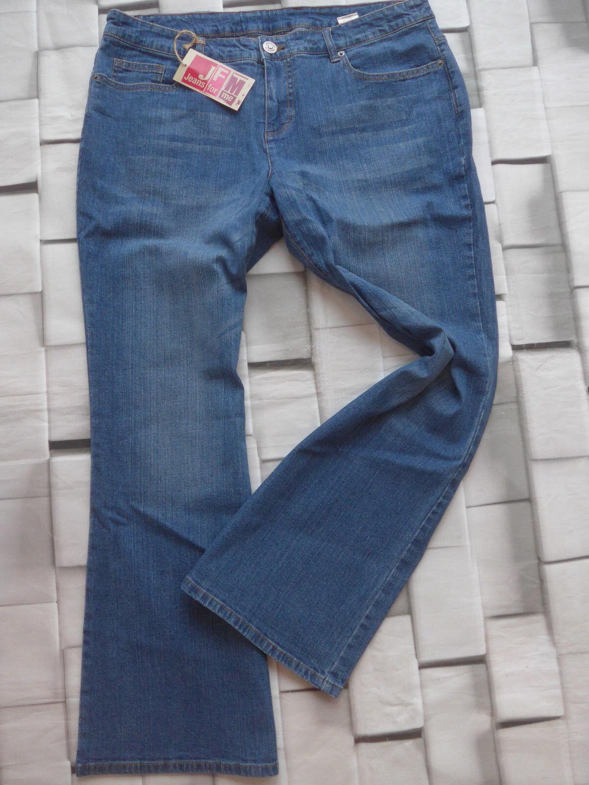 Jfm Pants Jeans Pants Size 44 Long and short Size bluee (849) New