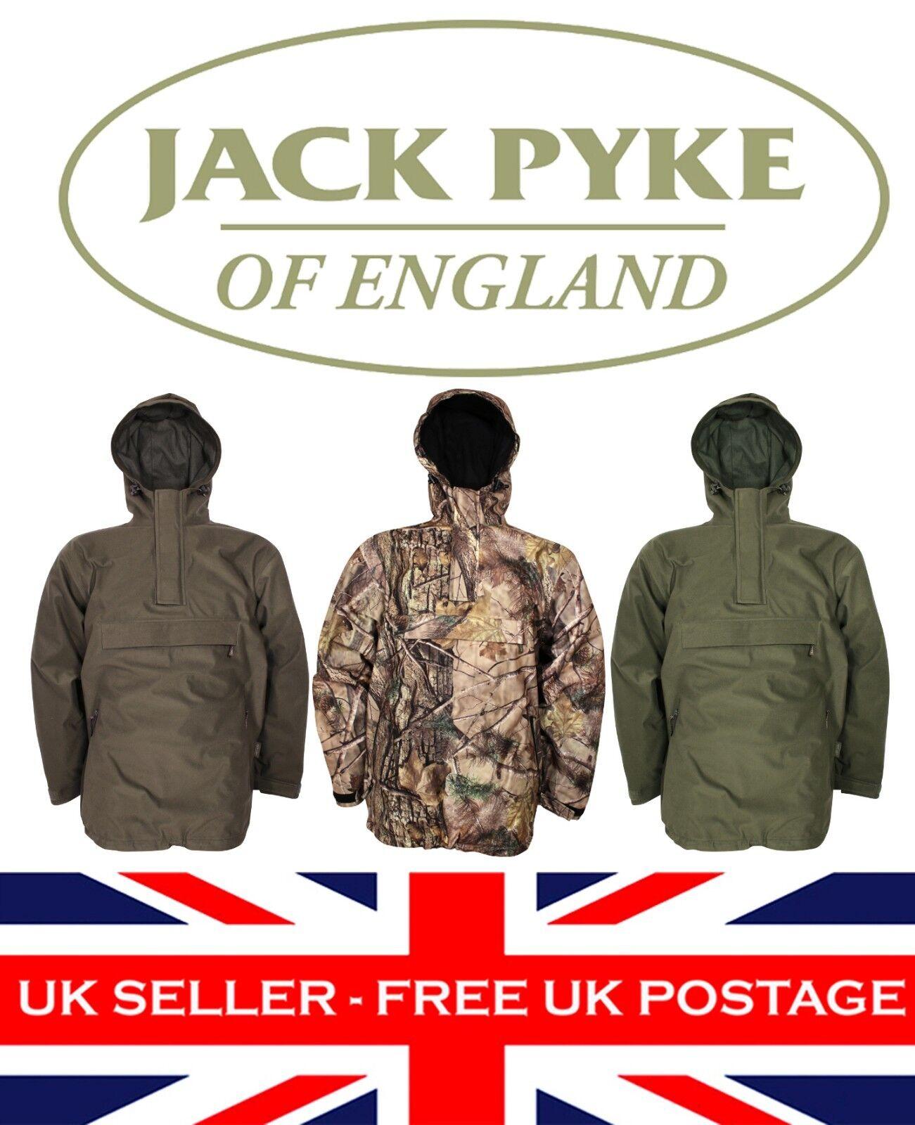 Jack Pyke Galbraith Imperméable Blouse Manteau Chasse Tir Pêche Pêche Pêche Vert Marron 176d05