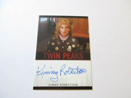 2018 Twin Peaks Kimmy Robertson as Lucy Moran Autograph Limited Event Series