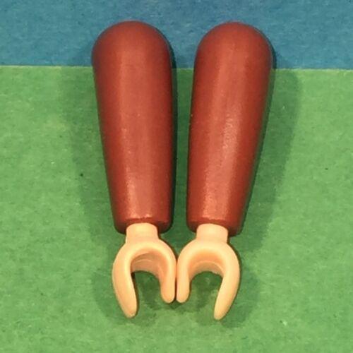 bras marron playmobil ref 4