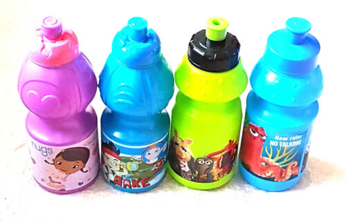 Boy Girl Character Drinks Bottle With Sports Spout   New
