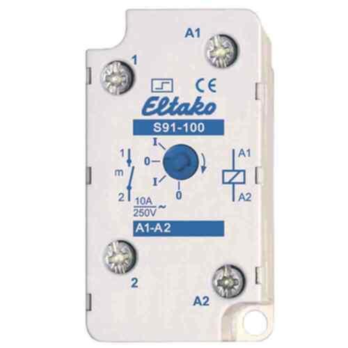 Eltako obscénité Interrupteur F EB//AP 1 S 10 a s91-100-230v AP mécaniquement Interrupteur NEUF
