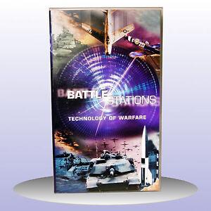 Battle-Stations-Warfare-Spitfire-F-86-Sabre-Battle-of-Britain-VHS-PAL-NEW