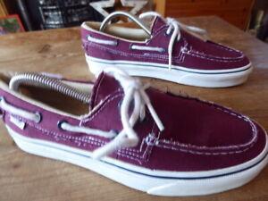 cansada bofetada toxicidad  mens VANS deck shoes/trainers - size uk 7.5 great condition | eBay